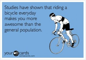 Cyclist are more awesome