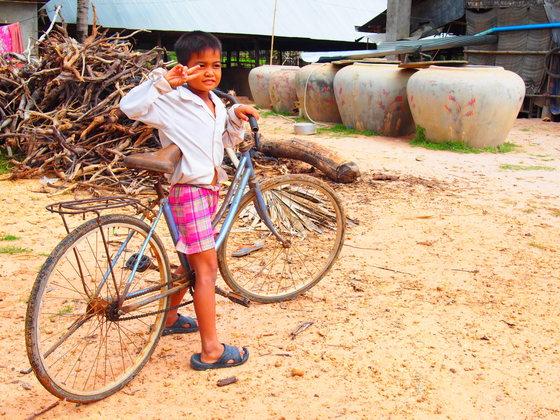 Source CBB Cambodia: Ready for Japan - Bicycles beyond borders