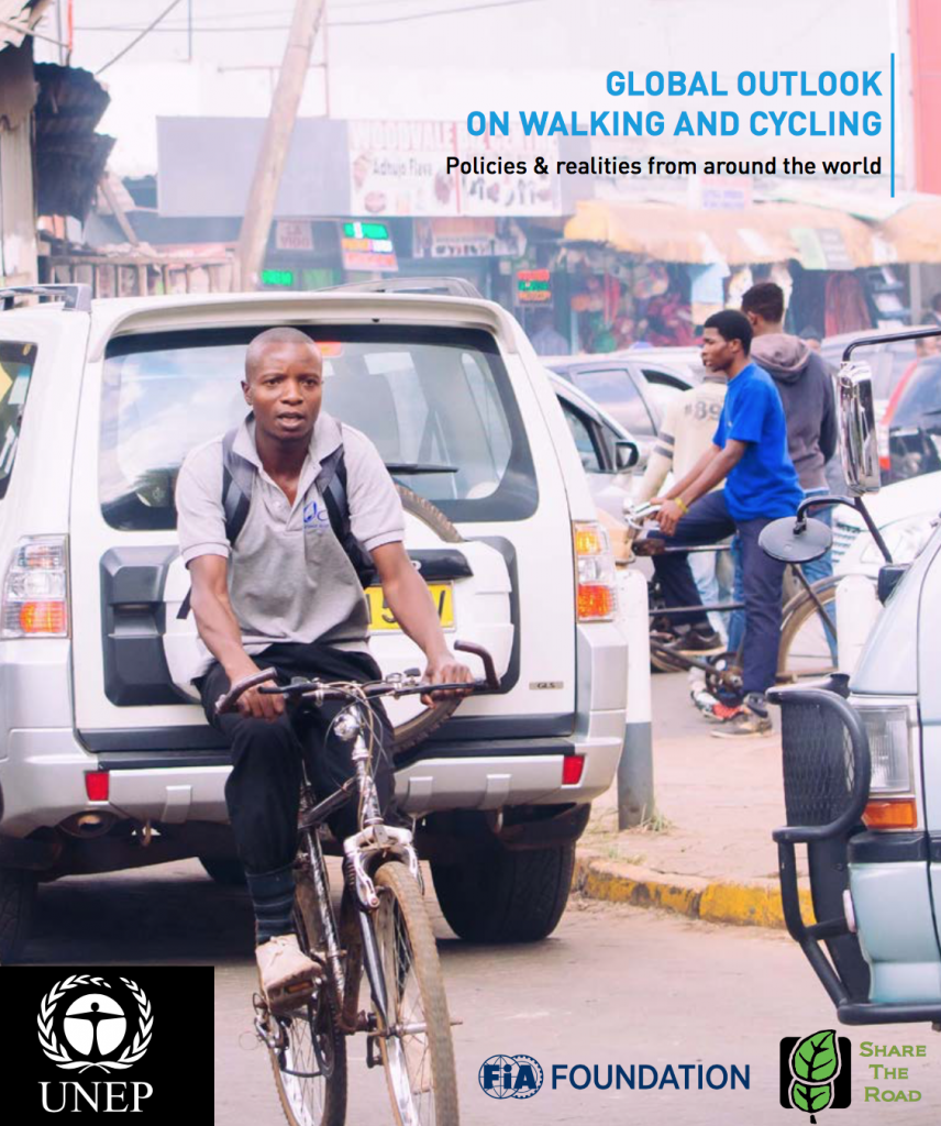 Source: UN Global Outlook on Walking and Cycling Report 2016