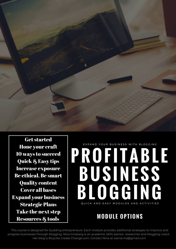 warral Ma - Business Blogging for success