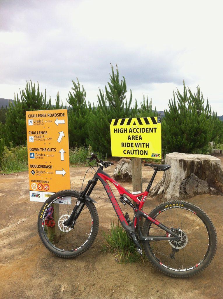 Signs in Rotorua