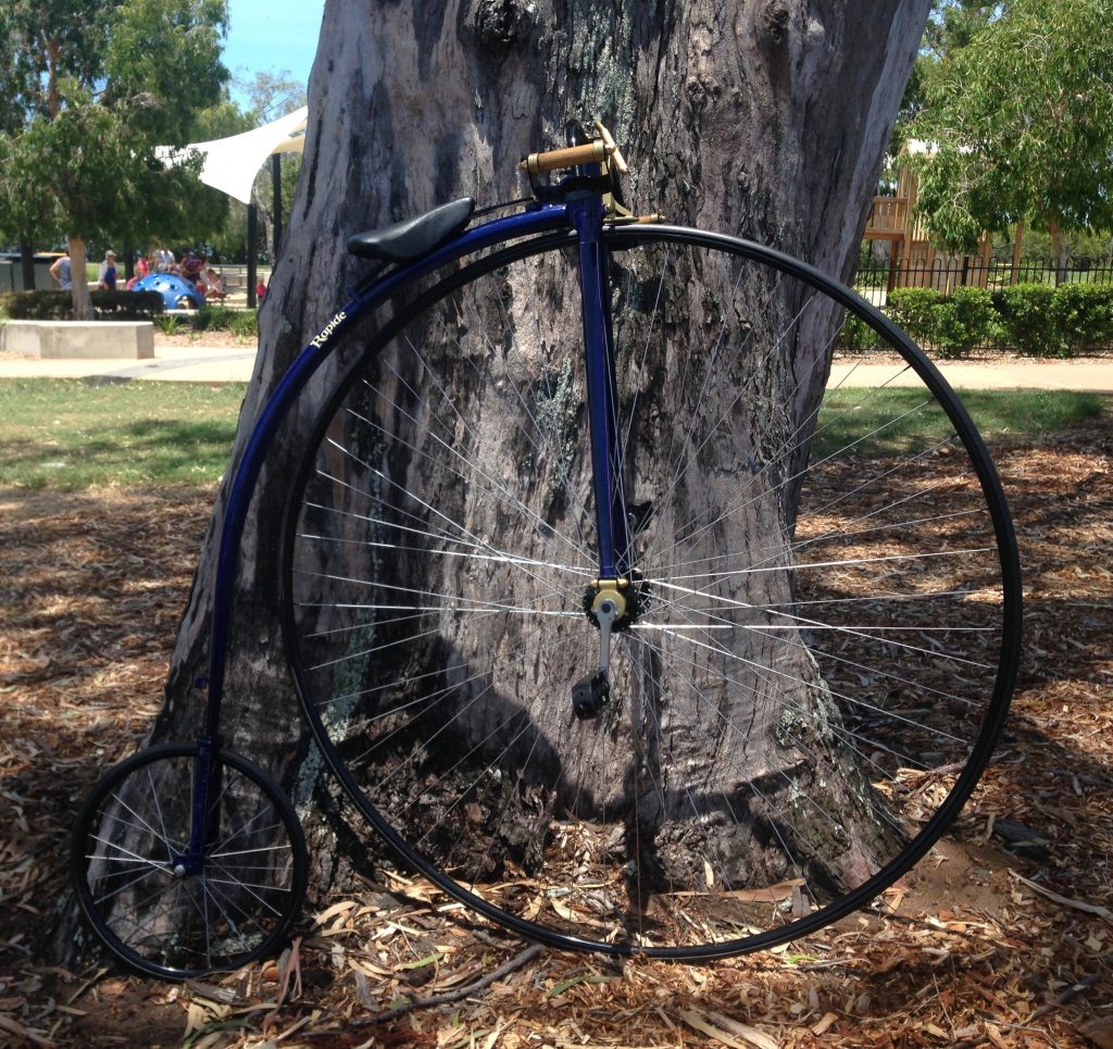 George's penny farthing
