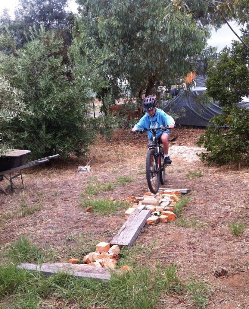Boys Backyard MTB Track