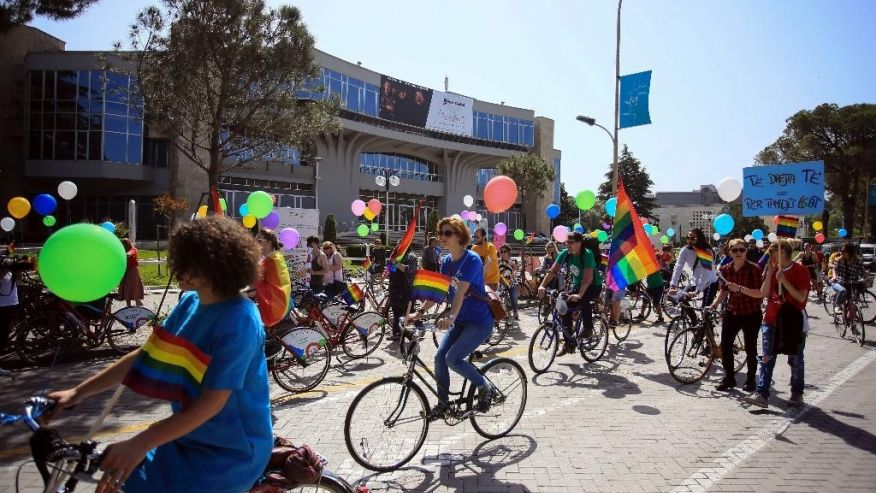 Tirana Gay (P)ride March