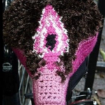 Knitted Bike Seat Covers