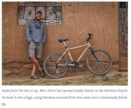 11 Bicycles Create Change: Ben's Bici Cooperativa (Peru)