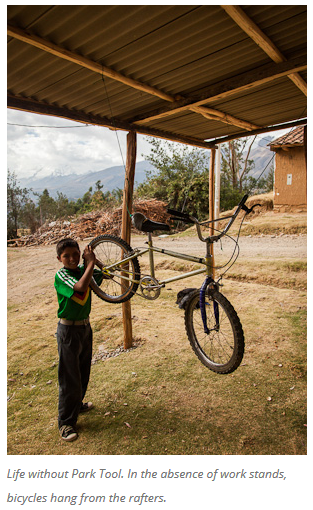 2 Bicycles Create Change: Ben's Bici Cooperativa (Peru)