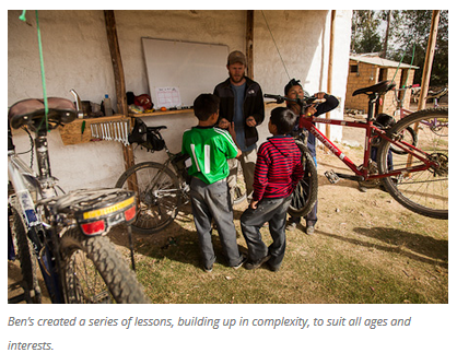 3 Bicycles Create Change: Ben's Bici Cooperativa (Peru)