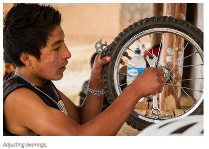 5 Bicycles Create Change: Ben's Bici Cooperativa (Peru)
