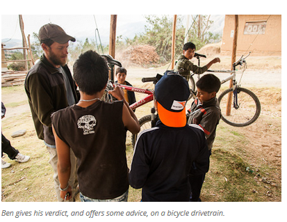 6 Bicycles Create Change: Ben's Bici Cooperativa (Peru)