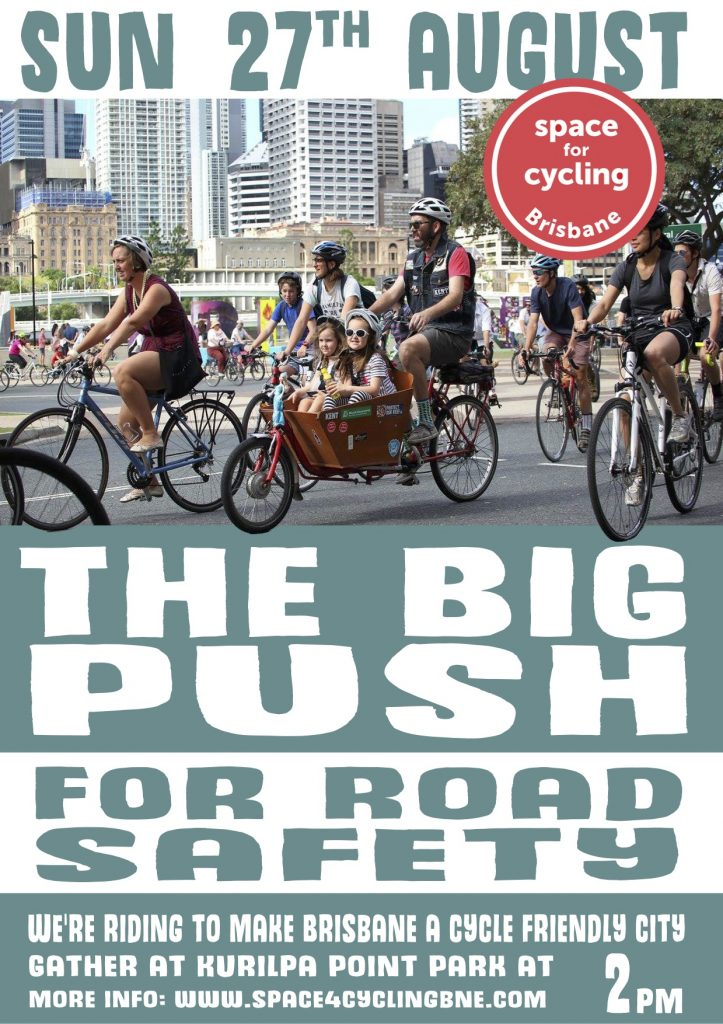 The Big Push for Riding - Bicycles cCreate Change