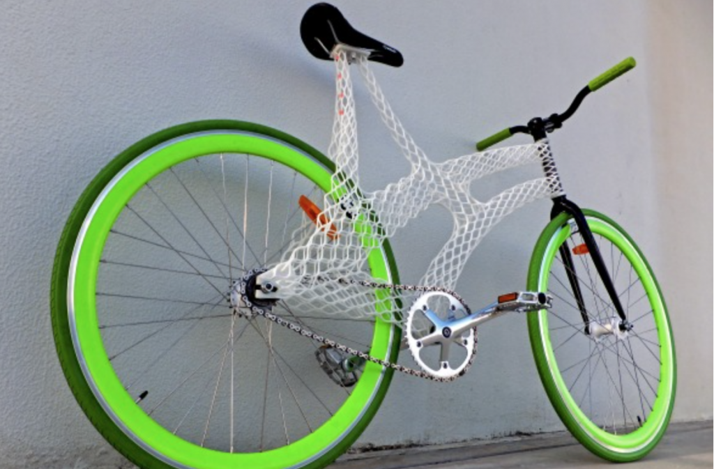 James Novak - 3D Printed bike