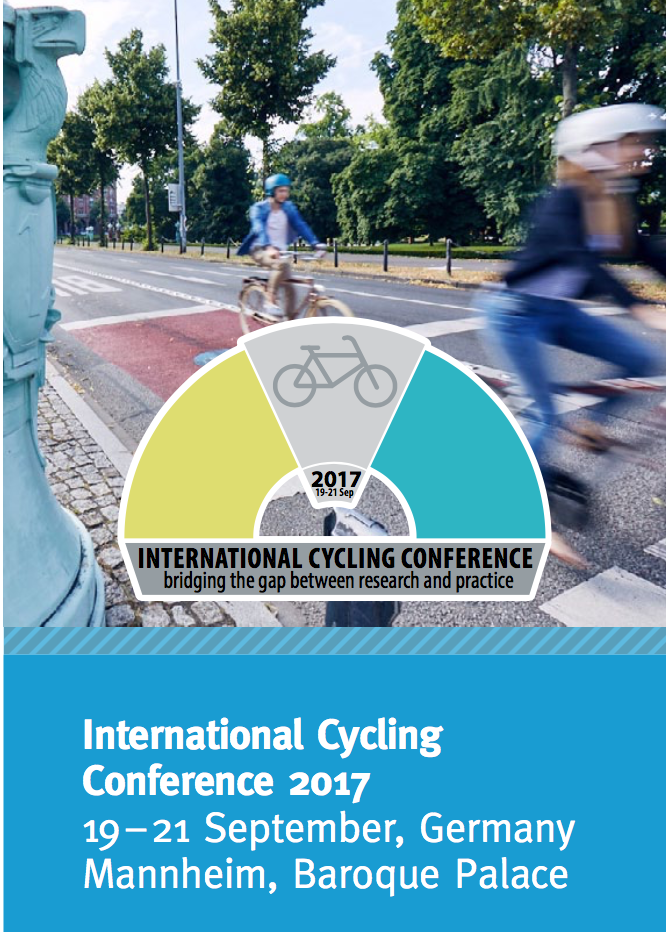 International Cycling Conference 2017 - Bicycles Create Change.com