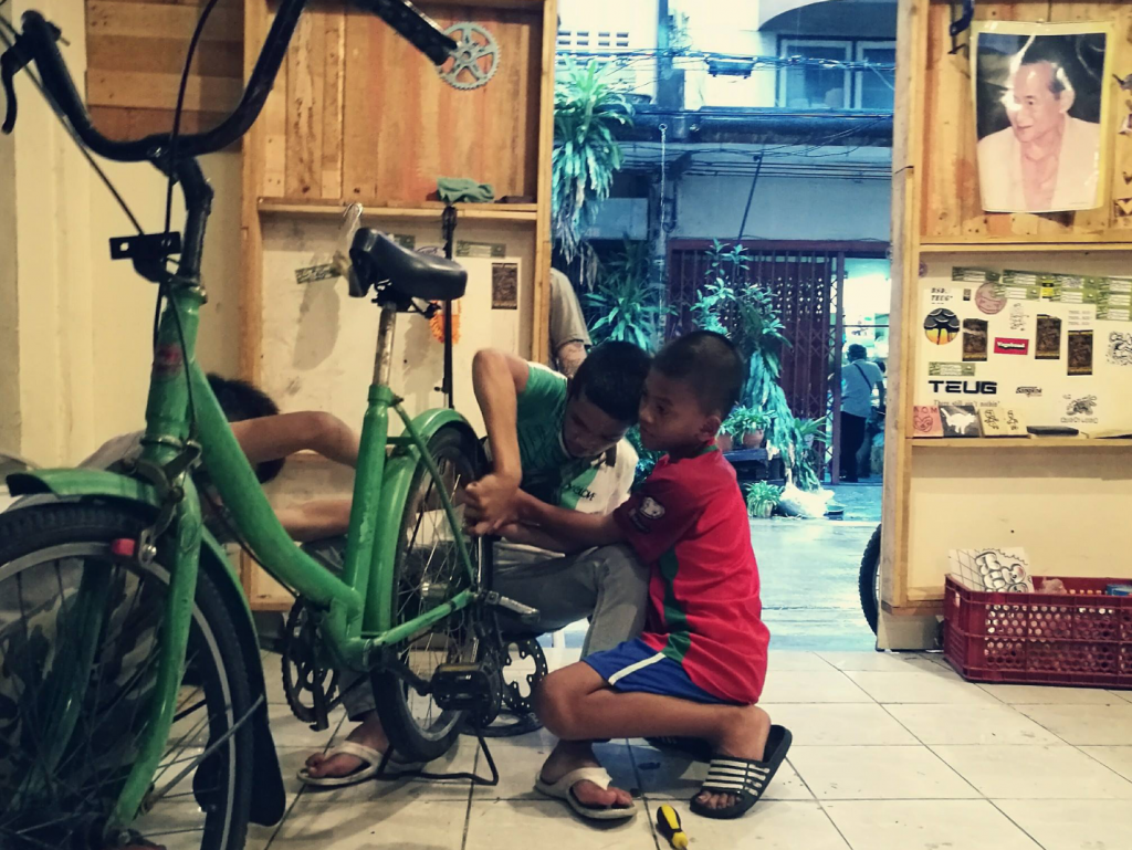 Don Kuson Community Bike Shop - Bicycles Create Change.com