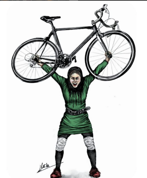 Bicycles Create Change.com Dec 11th. Women riding bikes in Iran
