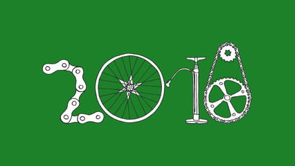 Happy New Gear 2018. Bicycles Create Change - 2nd Jan 2018