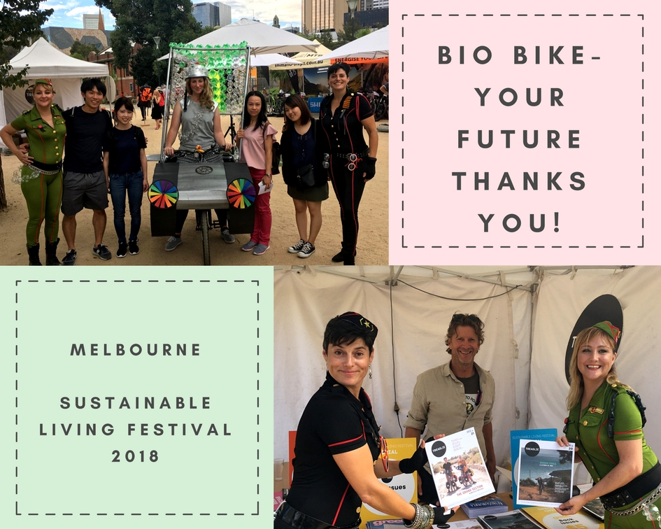 Bio Bike SLF 2018 -Bicycles Create Change.com. 13 Feb, 2018