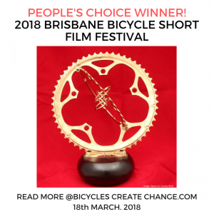 'LEKI' Brisbane Bicycle Short Film People's Choice Winner - Bicycles Create Change.com 18th March 2018