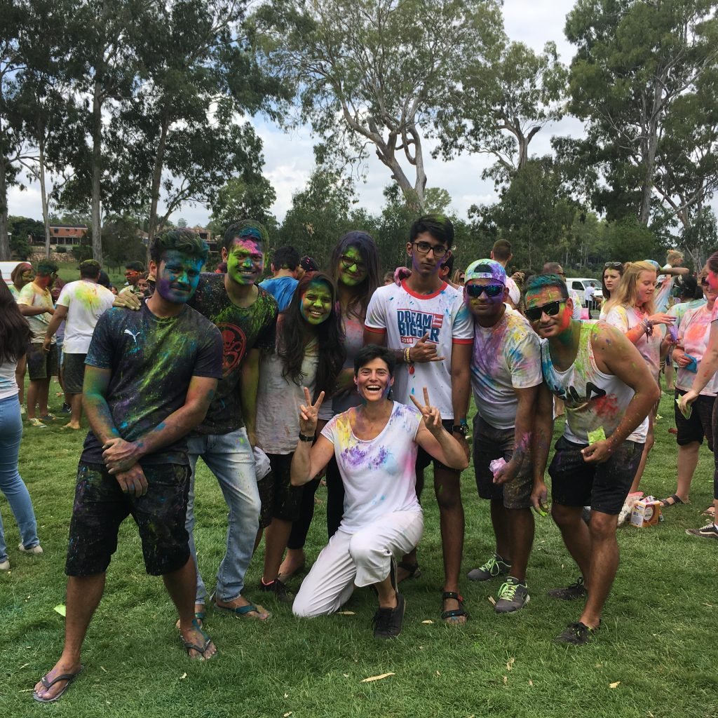 Holi Festival 2018 - Bicycles Create Change.com 13 March
