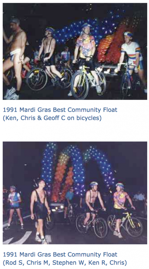 Happy 2018 Sydney Mardi Gras on bicycles - Bicycles Create Change.com 4th March, 2018