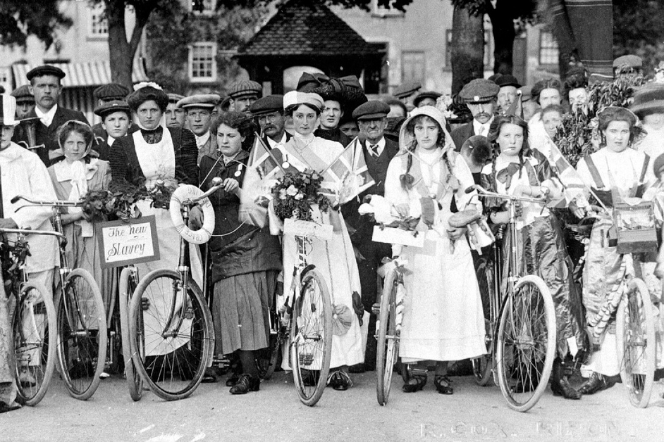 International Women's Day 2018 - Bicycles Create Change.com March 8th 2018