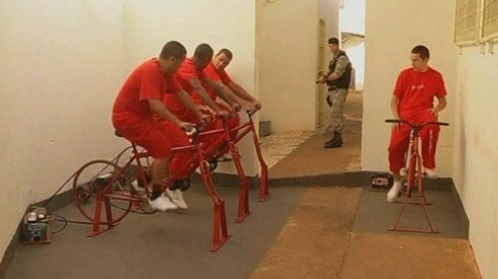 Bicycles in Prison. www.bicyclescreatechange.com 5th April, 2018
