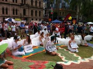 Brisbane Climate Change Rally 2016